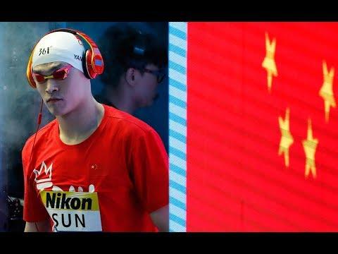 Schwimm-WM 2019: Erneuter Eklat bei der Siegerehrung von Sun Yang in Gwangju (Südkorea)