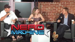Conversations for a Cause - Nerd HQ 2011 Subscribe to The Nerd Machine: http://goo.gl/Le9ha Conversation with Adam Baldwin, Alan Tudyk, and Jewel Staite - Ne...