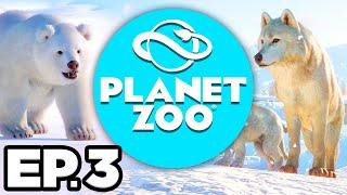 Planet Zoo: Arctic Pack Ep.3 - • DISEASE OUTBREAK, ADOPTING EXHIBIT ANIMALS! (Gameplay / Let's Play)