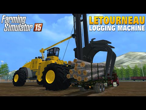 Letourneau Log Loader v1.0