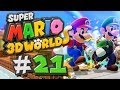 Super Mario 3D World Gameplay #21 - Feline Verwirrung