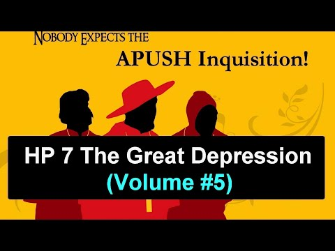 HP 7 The Great Depression (Volume #5)