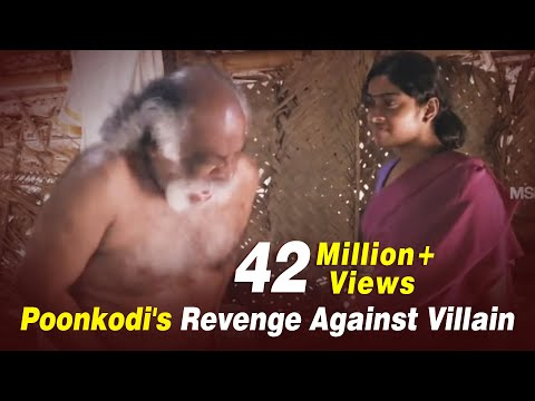 Poonkodi's Revenge Against Villain - Touring Talkies Tamil Movie Scenes
