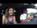 Ex F1 driver Riccardo Patrese takes his wife round Jerez circuit in a Honda Civic Type-R... a little too quickly! Hilarious!!