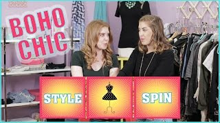 Boho-chic Clothing #StyleSpin Challenge by Seventeen Magazine