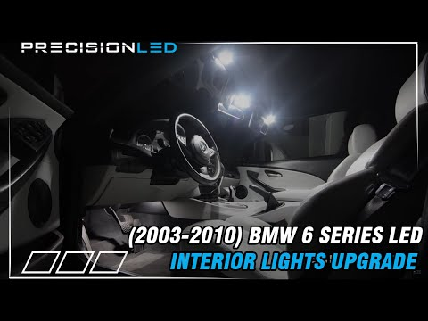 BMW 6 Series LED Install How to E63/E64 2003-2010