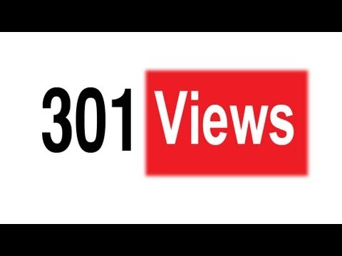 Why YouTube views freeze at 301