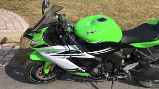 8. 2015 Kawasaki Zx6r abs review