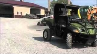 5. Cub Cadet Volunteer 748cc EFI Utility 4x4