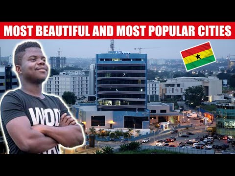 Top 10 Most Beautiful / Major Cities and Towns in Ghana 🇬🇭