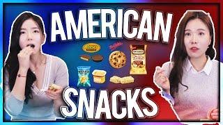 Video Koreans Try American Snacks(Eng Sub) MP3, 3GP, MP4, WEBM, AVI, FLV Agustus 2019