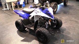 10. 2016 Yamaha Raptor 90 Sport ATV - Walkaround - 2015 Toronto ATV Show