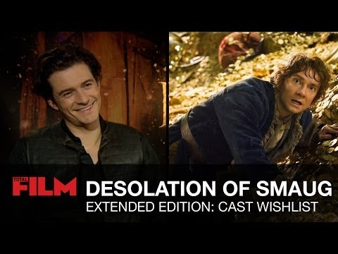 cast - Benedict Cumberbatch, Richard Armitage, Evangeline Lilly, Martin Freeman and Orlando Bloom talk potential cut scenes for The Hobbit: The Desolation Of Smaug ...