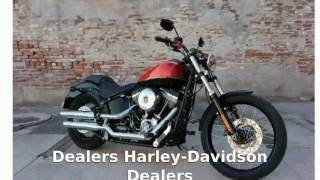 1. 2012 Harley-Davidson Softail Blackline - Specs
