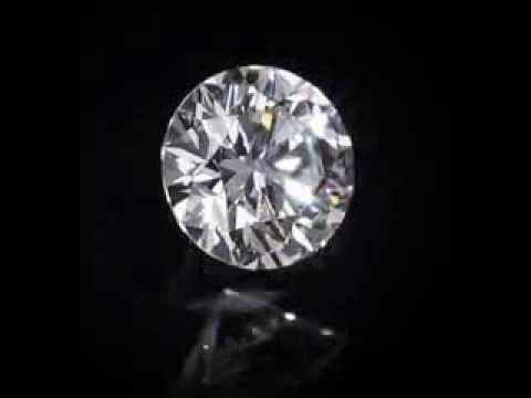 1 carat CT Round Loose diamond actual video