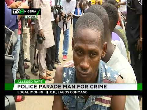 Alleged Rape | Police Parade Man For Crime