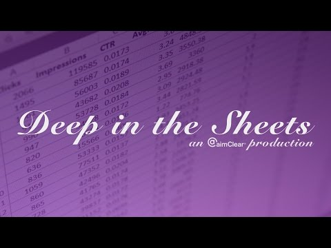 Deep in the Sheets Ep #6: How To Do Extensive Negative Keyword Research In A Snap