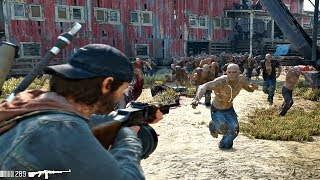 Video Days Gone - Old Sawmill Zombies Horde Boss Fight (Days Gone 2019) PS4 Pro MP3, 3GP, MP4, WEBM, AVI, FLV Juni 2019