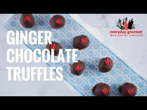 Ginger and Chocolate Truffles | Everyday Gourmet S7 E32