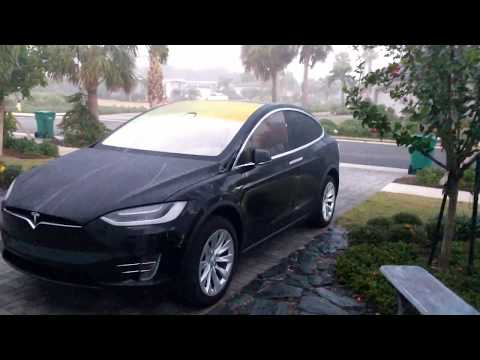 Does TESLA AutoWipe Clean Off Morning Dew? ...AUTOMATICALLY???