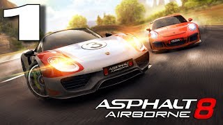 I take on gameloft Asphalt 8 Airborne as i begin my goal to get every car in game (yikes!)