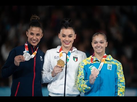 Campionessa Olimpica Giovanile 2018