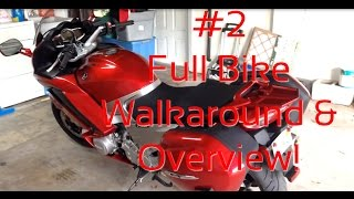 8. 2014 Yamaha FJR1300ES Walkaround And Overview vs Old Model
