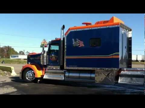 INSANE CUSTOM KENWORTH W900 CONDO & TRAILER