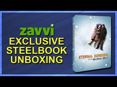 Eternal Sunshine Of The Spotless Mind Zavvi Exclusive Limited Edition SteelBook Unboxing