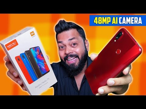 The Cheapest 48mp Camera Smartphone ⚡⚡ Redmi Note 7S Unboxing & First Impressions