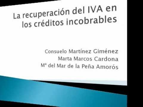 La recuperación del IVA en créditos incobrables