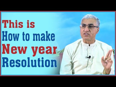 (This is How to Make New Year Resolution - Duration: 12 minutes.)