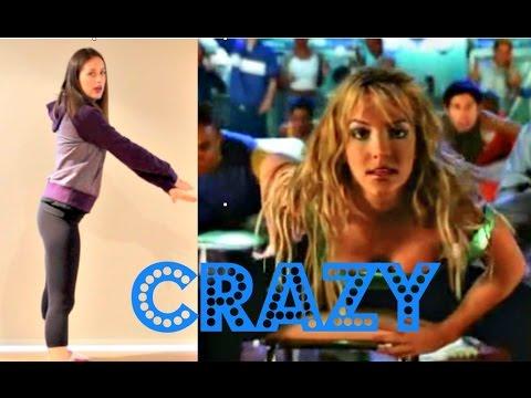 Хореография на композицию Бритни Спирс - Crazy. Урок Андреа Вилсон.