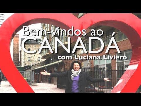 Luciana Liviero cai numa roubada nas Cataratas do Niágara