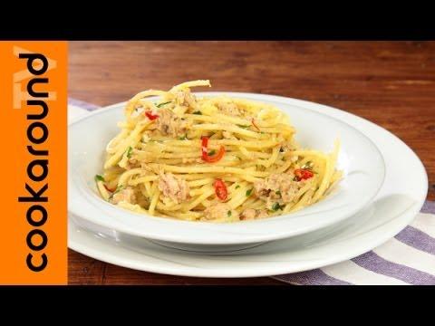 spaghetti tonno e limone - ricetta
