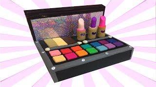 Play Doh Cosmetics Set Make Up Box Making DIY For Dolls