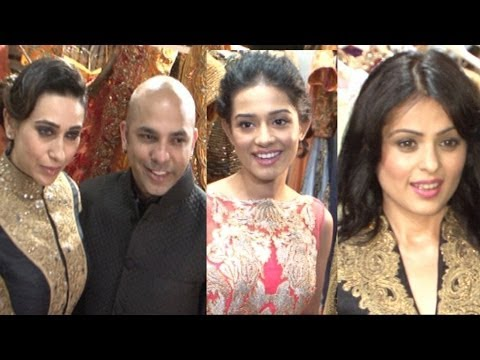 Karishma Kapoor, Amrita Rao And Other Celebs At Designer Mayur Girotra Store Launch