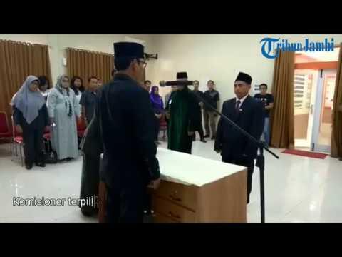 Muslim Gantikan Wein Arifin Jadi Ketua KPU Kota Jambi