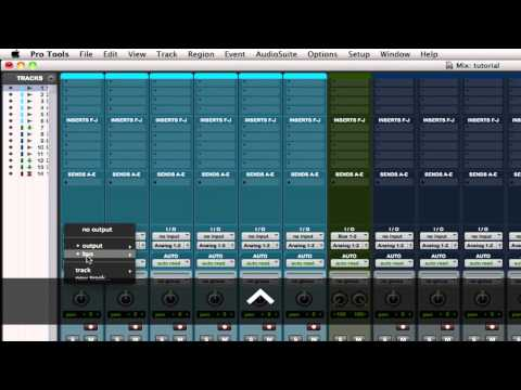Pro Tools Tips & Tutorials: Useful Routing Shortcuts