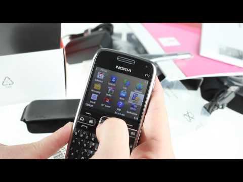 Unboxing Nokia E72