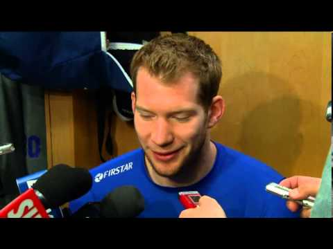 james reimer - Goaltender James Reimer recaps the 2013 season on Leafs locker clean out day. For more, log on to mapleleafs.com.