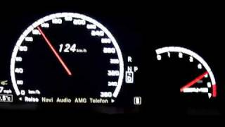 تسارع مرسيدس S65 AMG