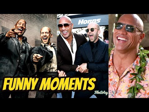 Hobbs And Shaw Bloopers and Funny Moments(Part-1) | Dwayne Johnson and Jason Statham 2019