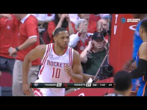 Eric Gordon dunks all over Jerami Grant