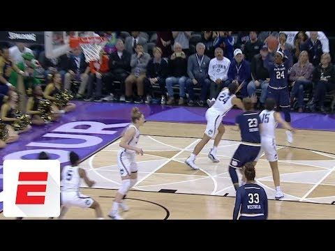 Notre Dame's Arike Ogunbowale Hits Pull-up Jumper With 1.0 Left To Beat UConn In Final Four | ESPN