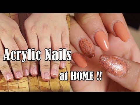 How to Apply Acrylic Nails at HOME