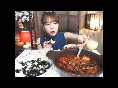 ♥ 슈기의 먹방 ♥ Shoogi's Eating Show ♥ Mukbang ♥ 엄청매운엽기닭볶음탕