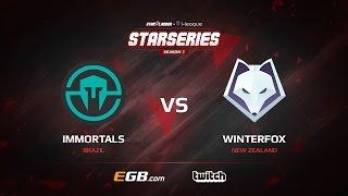 Immortals vs Winterfox, map 1 overpass, SL i-League StarSeries Season 3 NA Qualifier