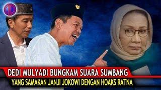 Video Makjleb! Dedi Mulyadi Bungk4m Suara Sumbang yang Samakan Janji Jokowi dengan Ho4ks Ratna MP3, 3GP, MP4, WEBM, AVI, FLV Oktober 2018