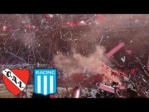 Independiente 2 - Racing 1   Compilado de la Hinchada - VOLVIÓ TU PAPÁ - La Barra del Rojo - Independiente